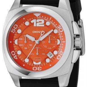 Dkny Chronograph Ny1446 Kello Oranssi / Kumi