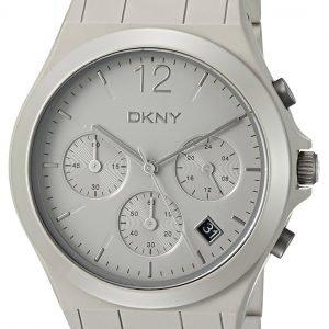 Dkny Chronograph Ny2443 Kello Harmaa / Keraaminen