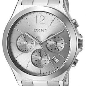 Dkny Chronograph Ny2451 Kello Hopea / Teräs