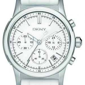 Dkny Chronograph Ny8170 Kello Valkoinen / Kumi