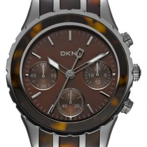 Dkny Chronograph Ny8709 Kello Ruskea / Teräs