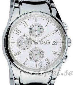Dolce & Gabbana D&G 3719770110 Kello Valkoinen / Teräs
