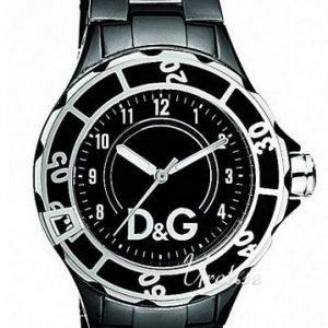 Dolce & Gabbana D&G Anchor Dw0662 Kello Musta / Teräs