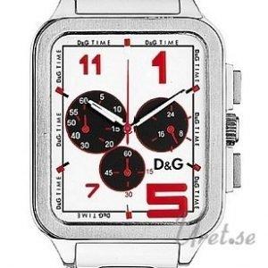 Dolce & Gabbana D&G Dw0185 Kello Valkoinen / Teräs