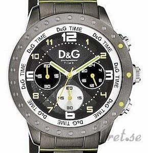 Dolce & Gabbana D&G Dw0193 Kello Musta / Teräs
