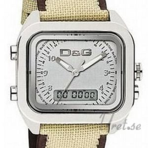 Dolce & Gabbana D&G Dw0298 Kello Hopea / Tekstiili