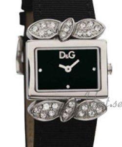Dolce & Gabbana D&G Dw0493 Kello Musta / Satiini