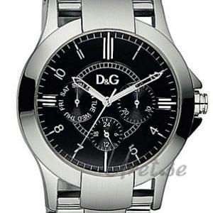 Dolce & Gabbana D&G Dw0537 Kello Musta / Teräs