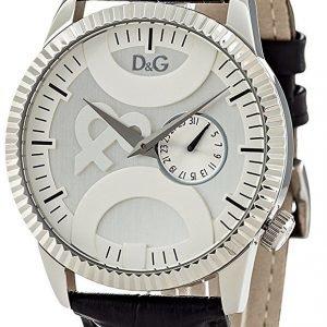 Dolce & Gabbana D&G Dw0695 Kello Hopea / Nahka