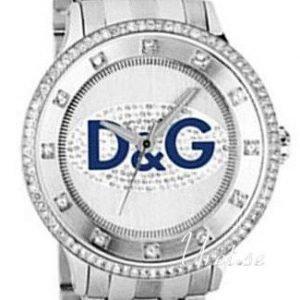 Dolce & Gabbana D&G Prime Time Dw0133 Kello Hopea / Teräs