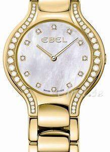 Ebel Beluga Lady 1215874 Kello Valkoinen / 18k Keltakultaa