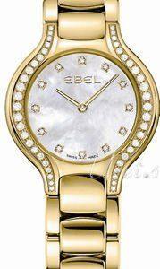 Ebel Beluga Mini 1215871 Kello Valkoinen / 18k Keltakultaa