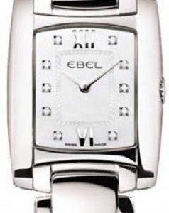 Ebel Brasilia 1215743 Kello Valkoinen / Teräs