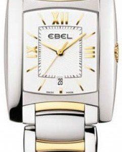 Ebel Brasilia 1215780 Kello Valkoinen / Teräs