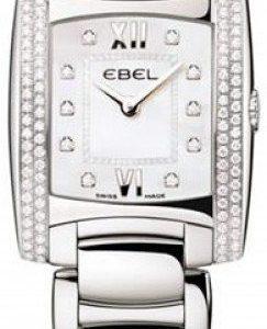 Ebel Brasilia 1215897 Kello Valkoinen / Teräs