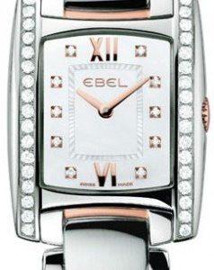 Ebel Brasilia 1215922 Kello Valkoinen / Teräs