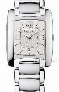 Ebel Brasilia Lady 1215774 Kello Valkoinen / Teräs