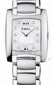 Ebel Brasilia Lady 1215776 Kello Valkoinen / Teräs