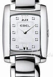 Ebel Brasilia Mini 1215605 Kello Valkoinen / Teräs