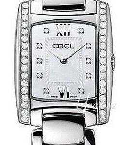 Ebel Brasilia Mini 1215607 Kello Valkoinen / Teräs