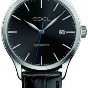 Ebel Classic 100 1216089 Kello Musta / Nahka