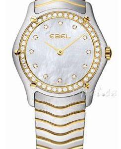 Ebel Classic Lady 1215271 Kello Valkoinen / Teräs