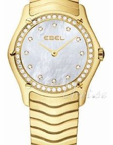 Ebel Classic Lady 1215273 Kello Valkoinen / 18k Keltakultaa