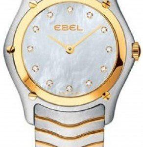 Ebel Classic Lady 1215371 Kello Valkoinen / Teräs
