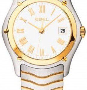 Ebel Classic Lady 1215646 Kello Valkoinen / Teräs