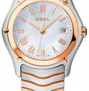 Ebel Classic Lady 1215901 Kello Valkoinen / Teräs