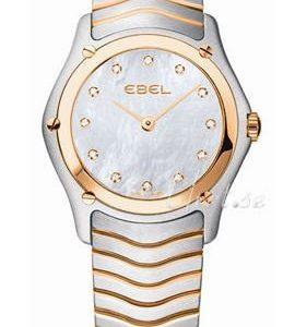 Ebel Classic Lady 1215902 Kello Valkoinen / Teräs