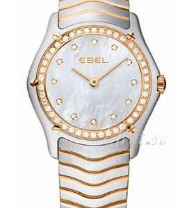 Ebel Classic Lady 1215903 Kello Valkoinen / Teräs