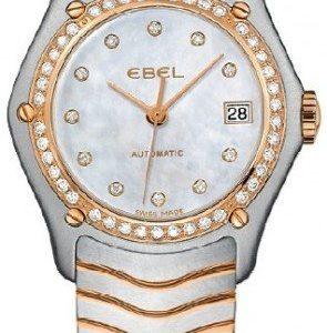 Ebel Classic Lady 1215928 Kello Valkoinen / Teräs