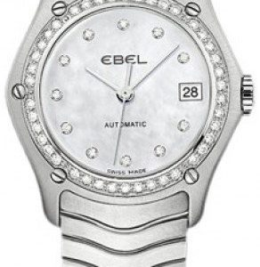 Ebel Classic Lady 1216003 Kello Valkoinen / Teräs