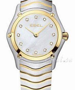 Ebel Classic Mini 1215402 Kello Valkoinen / Teräs