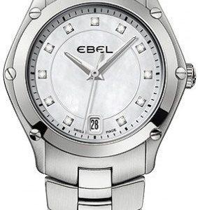 Ebel Classic Sport 1215982 Kello Valkoinen / Teräs
