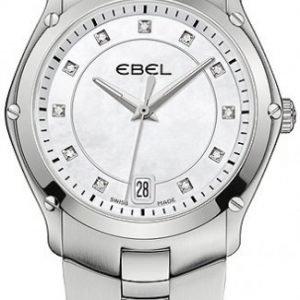 Ebel Classic Sport 1215986 Kello Valkoinen / Teräs
