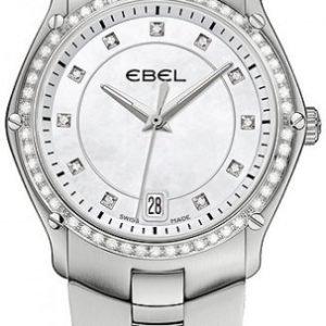 Ebel Classic Sport 1215987 Kello Valkoinen / Teräs