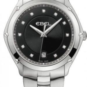 Ebel Classic Sport 1215995 Kello Musta / Teräs