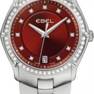 Ebel Classic Sport 1215996 Kello Punainen / Teräs