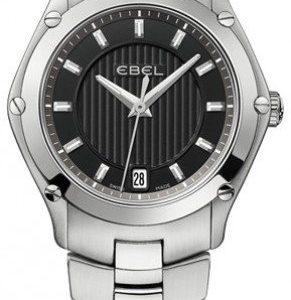Ebel Classic Sport 1216014 Kello Musta / Teräs