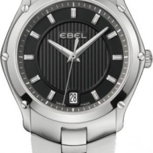 Ebel Classic Sport 1216016 Kello Musta / Teräs