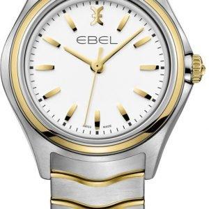 Ebel Wave 1216196 Kello Valkoinen / Kullansävytetty Teräs