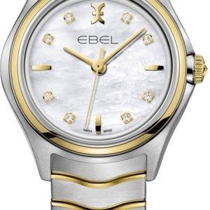Ebel Wave 1216197 Kello Kullansävytetty Teräs
