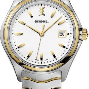 Ebel Wave 1216203 Kello Valkoinen / Kullansävytetty Teräs