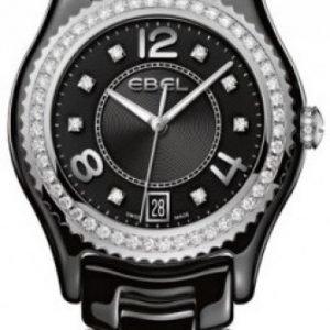 Ebel X-1 1216156 Kello Musta / Keraaminen
