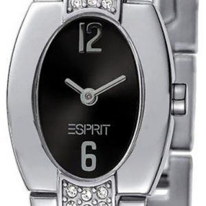 Esprit Dress Es102262002 Kello Musta / Teräs
