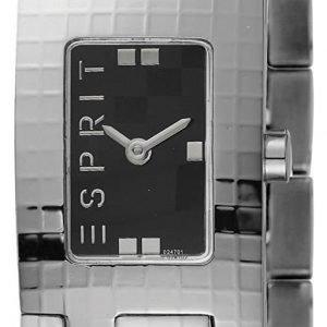 Esprit Dress Es102472001 Kello Musta / Teräs