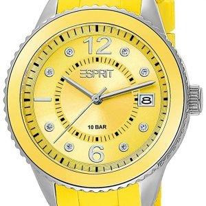 Esprit Dress Es105342011 Kello Keltainen / Kumi