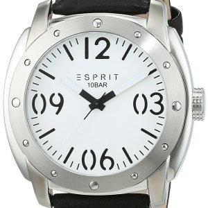 Esprit Dress Es106381002 Kello Valkoinen / Nahka